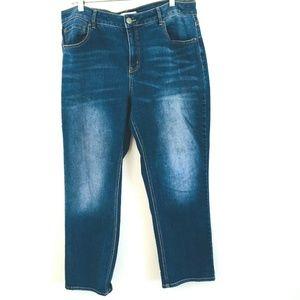 CATO Dark Wash Skinny Jeans